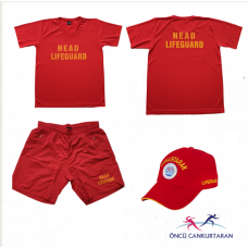 HEAD LIFEGUARD ÜNİFORMA SET